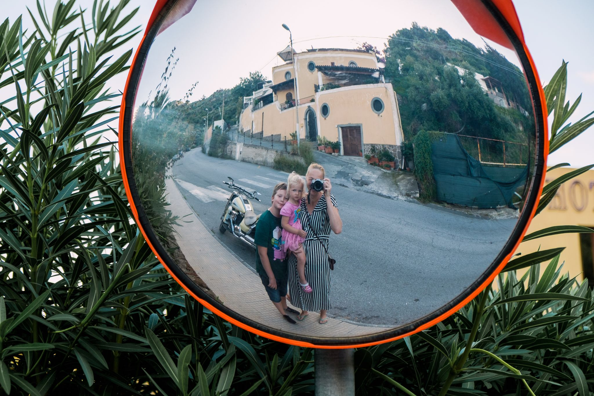 Katrin & Co. living in the moment in Sicily