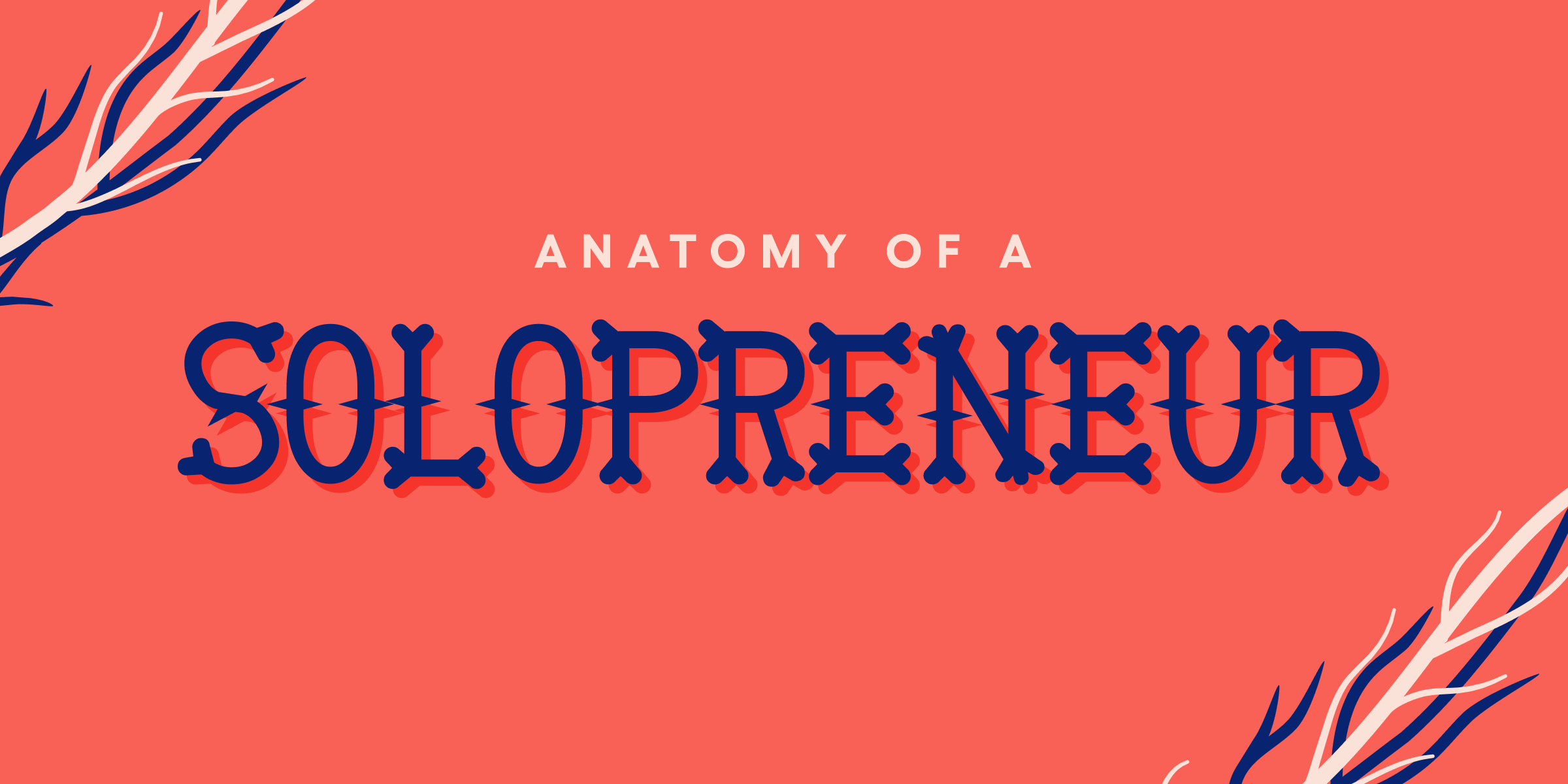 Anatomy of a solopreneur [infographic]