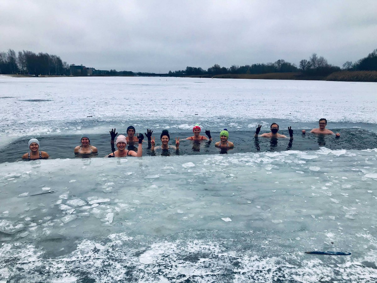 Winter swimming and 3 other things Xolo learnt from 2020
